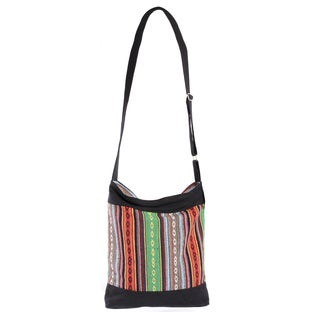 Eco Love Cotton Crossbody Bag (Nepal)