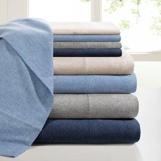 INK+IVY Brand Heathered Cotton Jersey Knit Sheet Set