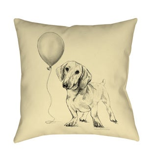 Thumbprintz Lulu Indoor/ Outdoor Decorative Throw Pillow