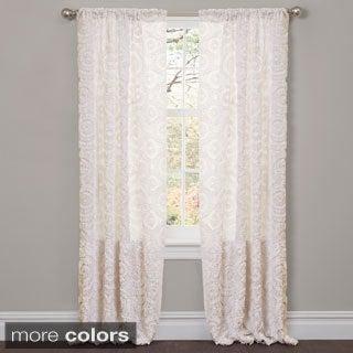 Lush Decor Stella 84-inch Curtain Panel