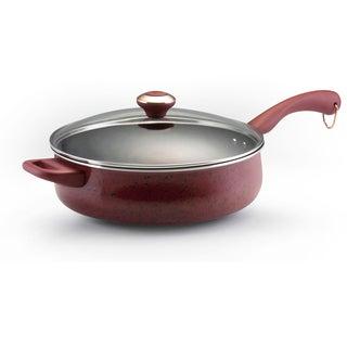 Paula Deen Signature Porcelain Nonstick 5-quart Covered Saute Pan