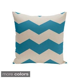 16 x 16-inch Chevron Print Decorative Throw Pillow