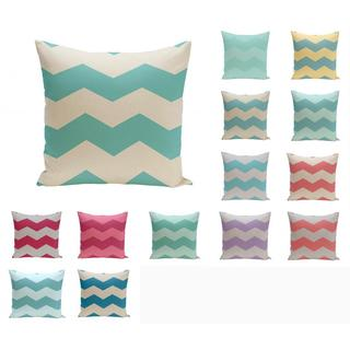 18 x 18-inch Large Chevron Print Geometric Decorative Throw Pillow