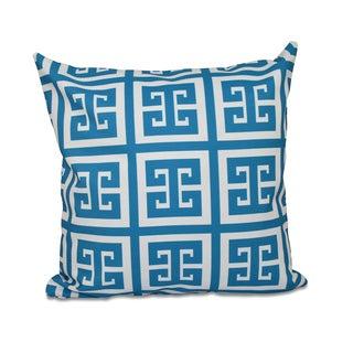 26 x 26-inch Large Greek Key Geometric Decorative Throw Pillow