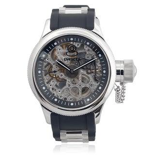Invicta Men's 1088 Silicone 'Russian Diver' Mechanical Watch