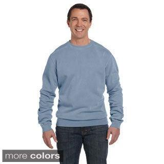 Men's Pigment-dyed Fleece Crew Sweater