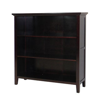 Ferndale Espresso Three-shelf Bookcase