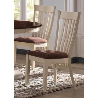 Aspen Buttermilk Slat Back Dining Chairs (Set of 2)