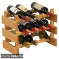 Dakota 12-bottle Stackable Wood Wine Rack