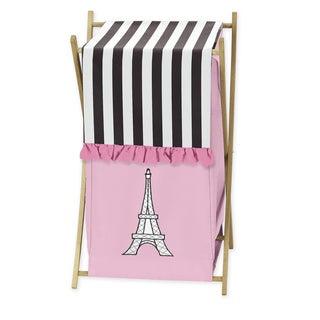 Sweet Jojo Designs Paris Laundry Hamper