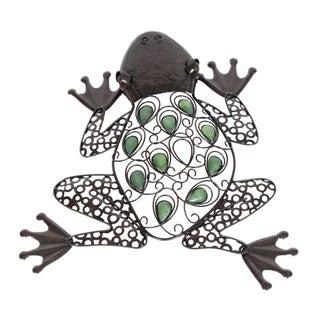 Glow in the Dark Frog Wall Art