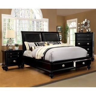 Furniture of America Modern 3-piece Platform Bedroom Set