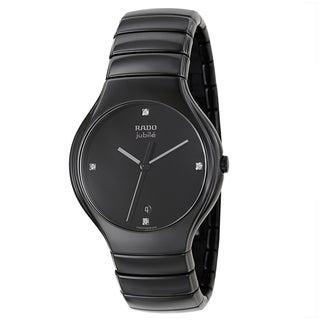 Rado Men's 'Rado True Jubile' Ceramic Swiss Quartz Watch