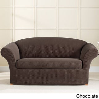 Sure Fit Stretch Brixton Loveseat Slipcover