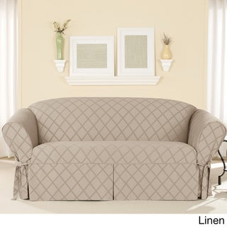 Sure Fit Durham One-piece Sofa Slipcover