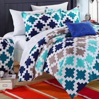 Chic Home Byte Printed 9-piece Dorm Room Bedding Set