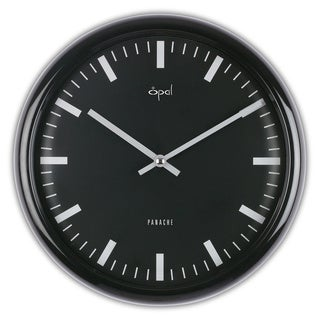 Opal Dome Glass Clock