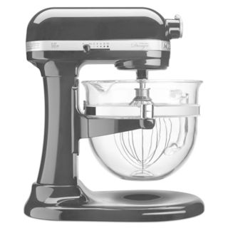 KitchenAid KF26M22OB Onyx Black 6-quart Bowl-Lift Pro 600 Design Series Stand Mixer