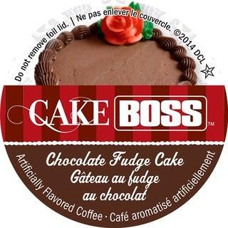Cake Boss Chocolate Fudge Cake Single Serve Coffee K-Cups