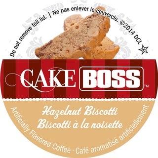 Cake Boss Hazelnut Biscotti Single Serve Coffee K-Cups