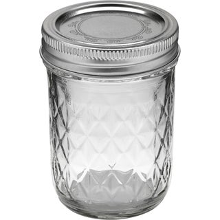 Crystal Jelly Jars (Set of 12)
