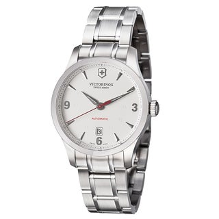 Swiss Army Men's 241667 'Alliance' Silver Dial Stainless Steel Automatic Watch