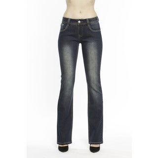 RED by Rose Royce Women's 'Diana' Dark Wash Boot-cut Jeans