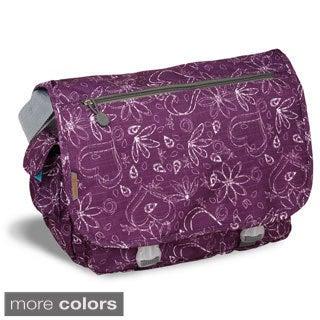 JWorld New York Love Print Terry Messenger Bag