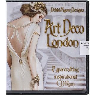 Debbi Moore Art Deco Papercrafting CD ROM-London