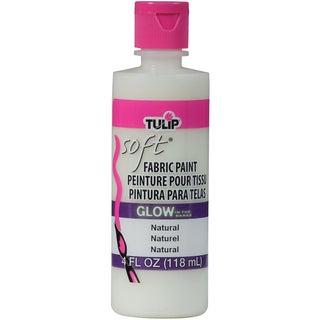 Tulip Soft Fabric Paint 4oz-Glow Natural
