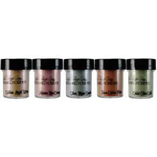 Lindy's Stamp Gang 2-Tone Embossing Powder .5oz 5/Pkg-Nantucket Pearls