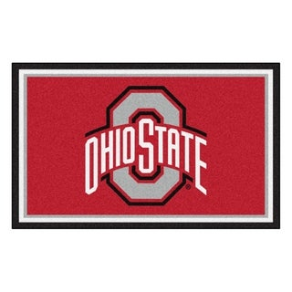 Fanmats NCAA Ohio State University Area Rug (4' x 6')