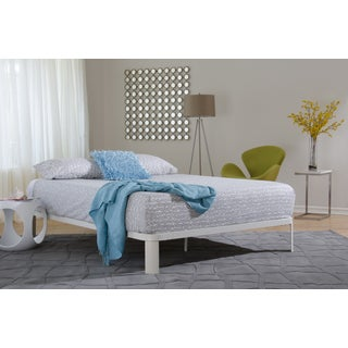 In Style Furnishings Lunar White Platform Bed