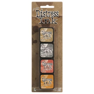 Distress Mini Ink Kits-Kit 7