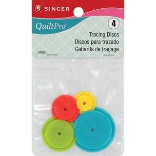 QuiltPro Tracing Discs-4/Pkg