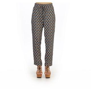 Hadari Juniors Abstract Pattern Straight Pants
