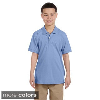 Youth Easy Blend Polo Shirt