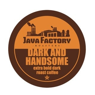 Java Factory 'Dark and Handsome' Single Serve Coffee K-Cups