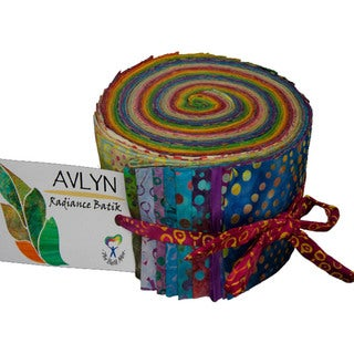 "Radiance 2.5""X44"" Jelly Roll 40pcs-Radiance"