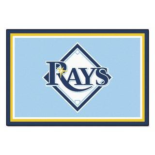 Fanmats MLB Tampa Bay Rays Area Rug (5' x 8')