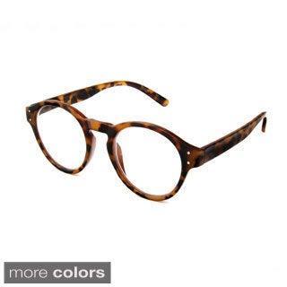 Hot Optix Unisex Large Round-frame Reading Glasses
