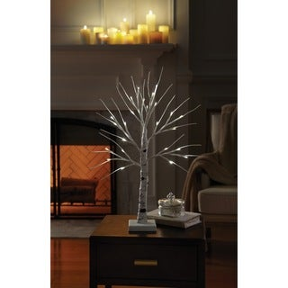 Order Home Collection 2ft Decorative LED Birch Tree