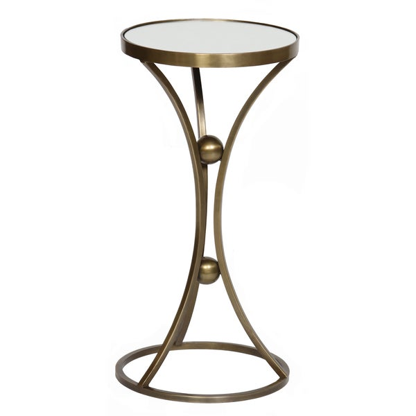 Antique Brass Round Mirror Top Accent Table Overstock  : Accent table with Mirror Top 386f4a3c c995 416b bc13 b46ec73e6fa4600 from www.overstock.com size 600 x 600 jpeg 67kB