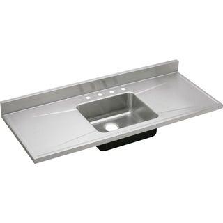 Elkay Gourmet (Lustertone) Stainless Steel Single Bowl Sink Top Sink