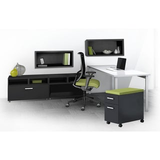 Mayline e5 Series E5K16 6-piece Typical Office Furniture Set
