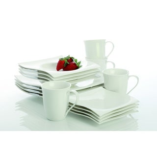 Maxwell & Williams White Basics Motion 16-piece Dinner Set