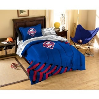MLB Philadelphia Phillies 7-piece Bed in a Bag Set