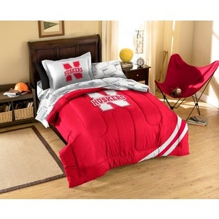 University of Nebraska 7-piece Bed in a Bag Set