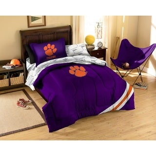 Clemson University 7-piece Bed in a Bag Set
