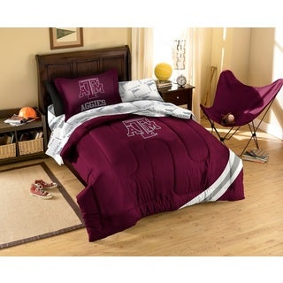 Texas A& M University Aggies 7-piece Bed in a Bag Set